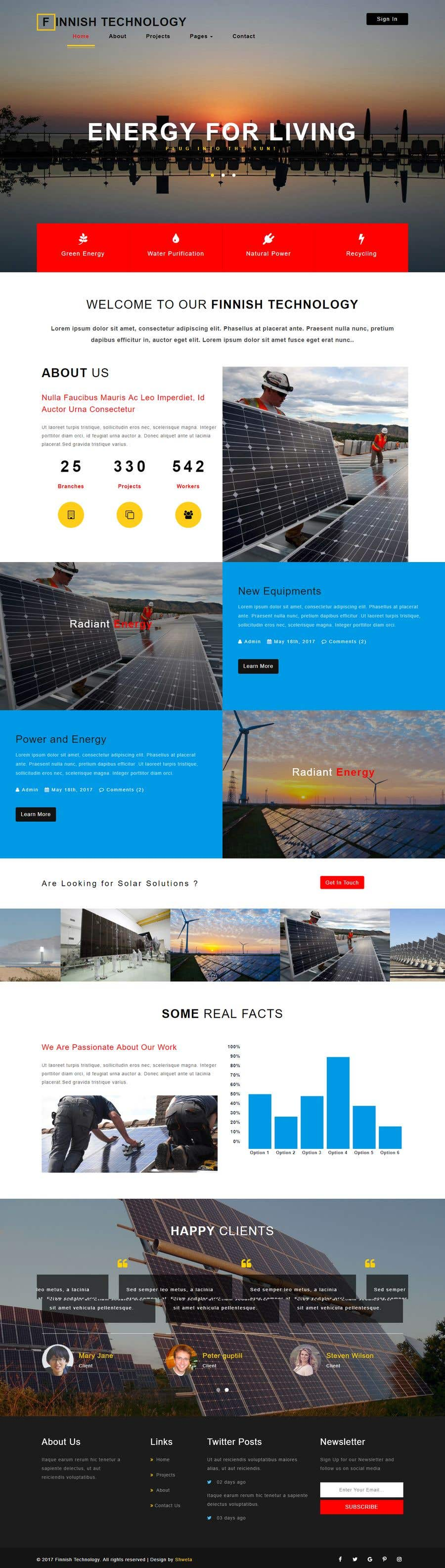 Contest Entry #8 for Design a Website layout for an innovative technology company