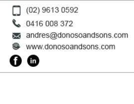 mondaluttam tarafından HTML Email Signature için no 2