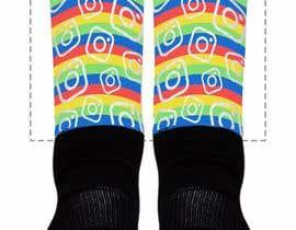 Nro 1 kilpailuun Silky Socks Design Contest - Instagram Sock Design käyttäjältä claudioosorio