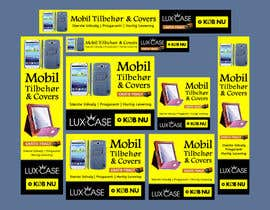 #56 untuk Banner Ad Design for Online shop selling mobile phone accessories oleh Qbrothers