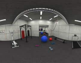 #19 for 3D-Modelling a hobby cellar gym for product promotion by mdigitally