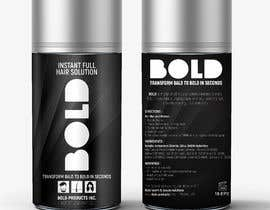 #65 cho Design a Hair Product Label that is Clean, portrays Confidence, and is BOLD bởi ghielzact