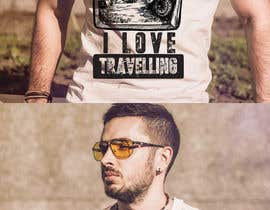 #60 for Design a T-Shirt for traveling lovers by Rezaulkarimh