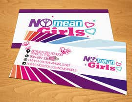 #13 for Design some Business Cards for No Mean Girls by DanielVex