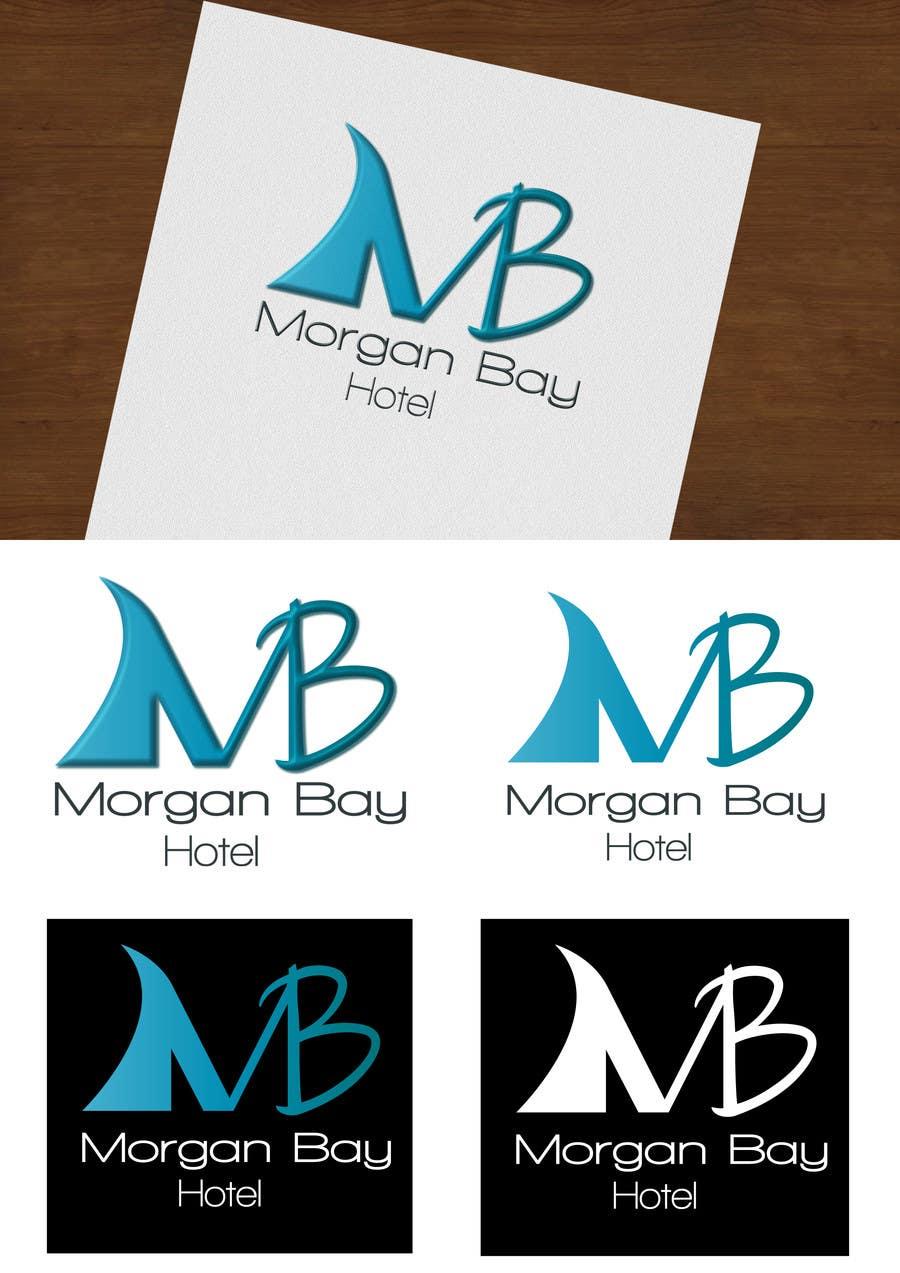 Konkurrenceindlæg #4 for Logo Design for Morgan Bay Hotel