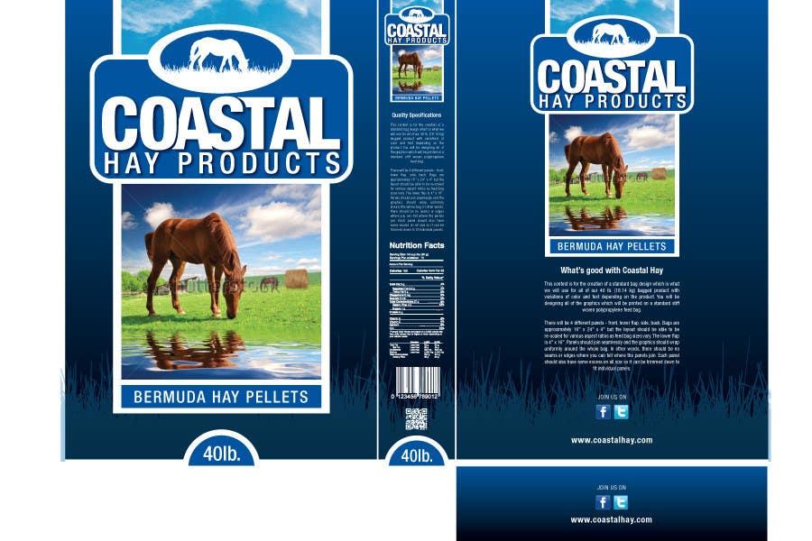 Конкурсная заявка №24 для Print & Packaging Design for Coastal Hay Products, Inc.