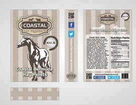 #19 para Print & Packaging Design for Coastal Hay Products, Inc. por nikster08
