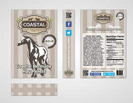 #23 para Print & Packaging Design for Coastal Hay Products, Inc. por nikster08