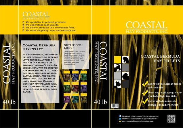 Inscrição nº                                         7                                      do Concurso para                                         Print & Packaging Design for Coastal Hay Products, Inc.