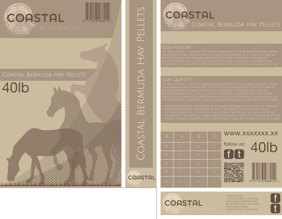 Inscrição nº                                         21                                      do Concurso para                                         Print & Packaging Design for Coastal Hay Products, Inc.