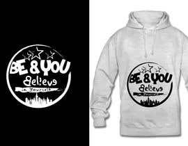 #38 untuk Graphic design slogan for hoodie/jumper oleh fourtunedesign