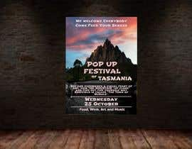 #22 for Poster - Pop Up Festival of Music, Food and Art by ch47ly