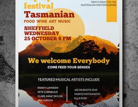 #36 for Poster - Pop Up Festival of Music, Food and Art by Inadvertise