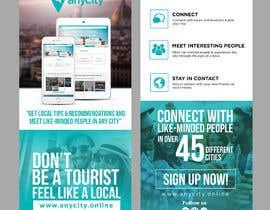 Nro 16 kilpailuun Design a Flyer for a travel startup käyttäjältä ephdesign13