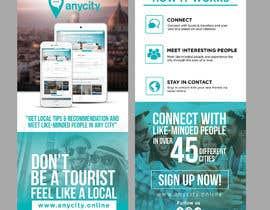 Nro 20 kilpailuun Design a Flyer for a travel startup käyttäjältä ephdesign13
