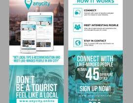 Nro 21 kilpailuun Design a Flyer for a travel startup käyttäjältä ephdesign13