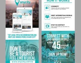 Nro 22 kilpailuun Design a Flyer for a travel startup käyttäjältä ephdesign13