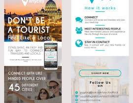 Nro 15 kilpailuun Design a Flyer for a travel startup käyttäjältä usamawajeeh123
