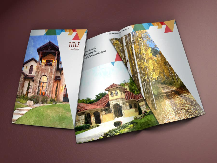 Bài tham dự cuộc thi #                                        7                                      cho                                         Design a Brochure for Real Estate