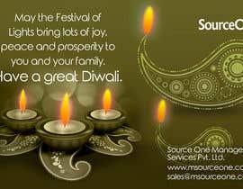 #18 for Design a Banner for Diwali by multicerveprint
