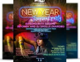 Nro 11 kilpailuun New year's eve party poster! käyttäjältä ephdesign13
