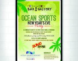Nro 25 kilpailuun New year's eve party poster! käyttäjältä logokhazana