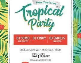 Nro 24 kilpailuun New year's eve party poster! käyttäjältä jonapottger