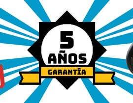 #13 for Banner 5 años de garantía af ch47ly