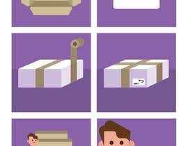 #2 for Illustration for website and newsletter on how to return shoes by DanielTArtworks