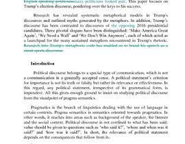 #3 for Proof-reading and editing of an article on political metaphor by rasultahreem1