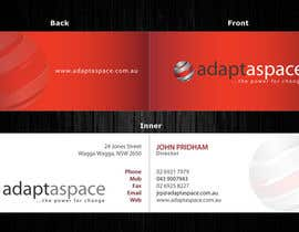 #17 untuk Business Card for adaptaspace oleh itm2008