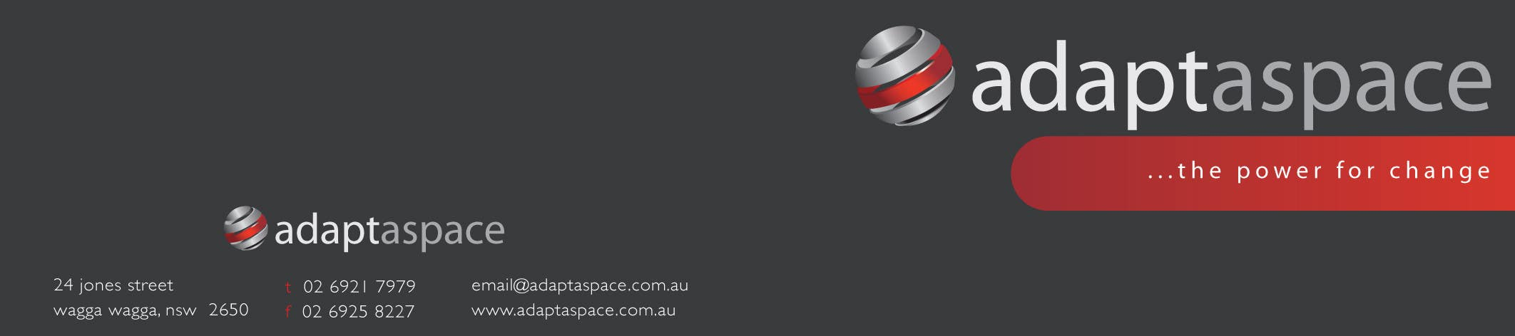 Konkurrenceindlæg #                                        58                                      for                                         Business Card for adaptaspace