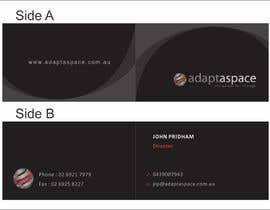 #2 untuk Business Card for adaptaspace oleh jimapp