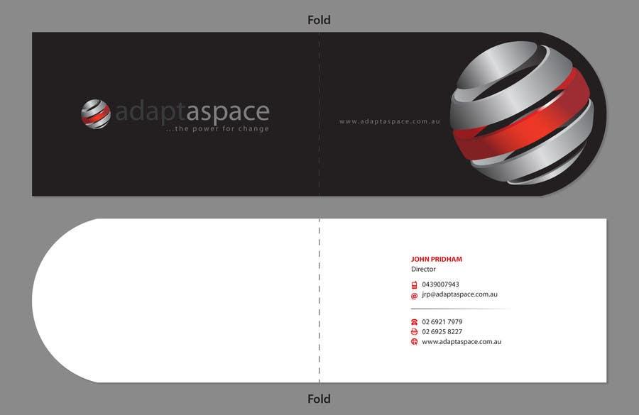 Konkurrenceindlæg #                                        30                                      for                                         Business Card for adaptaspace