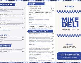 #21 for Design a Tri-Fold/Digital Menu for Deli by authenticweb