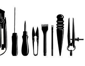 #7 cho simple illustration of tools bởi Indikaprasa