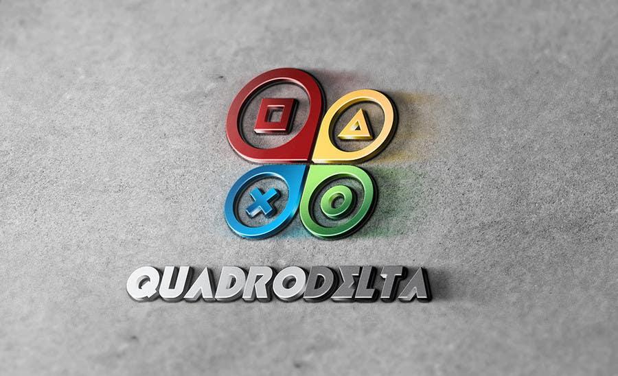 Inscrição nº                                         38                                      do Concurso para                                         Design Logo and INTRO video for Quadro Delta