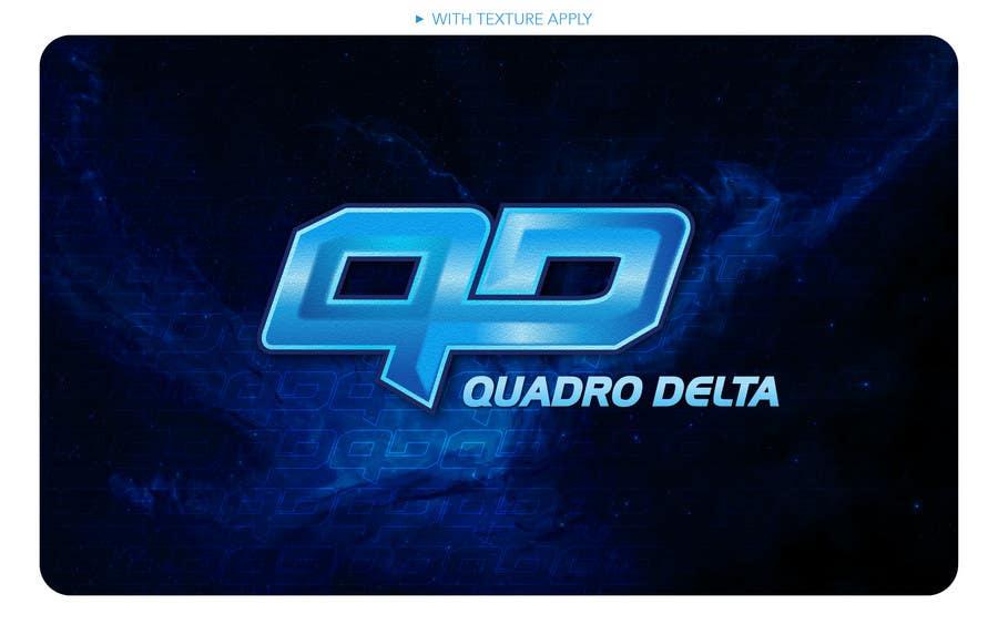 Inscrição nº                                         75                                      do Concurso para                                         Design Logo and INTRO video for Quadro Delta