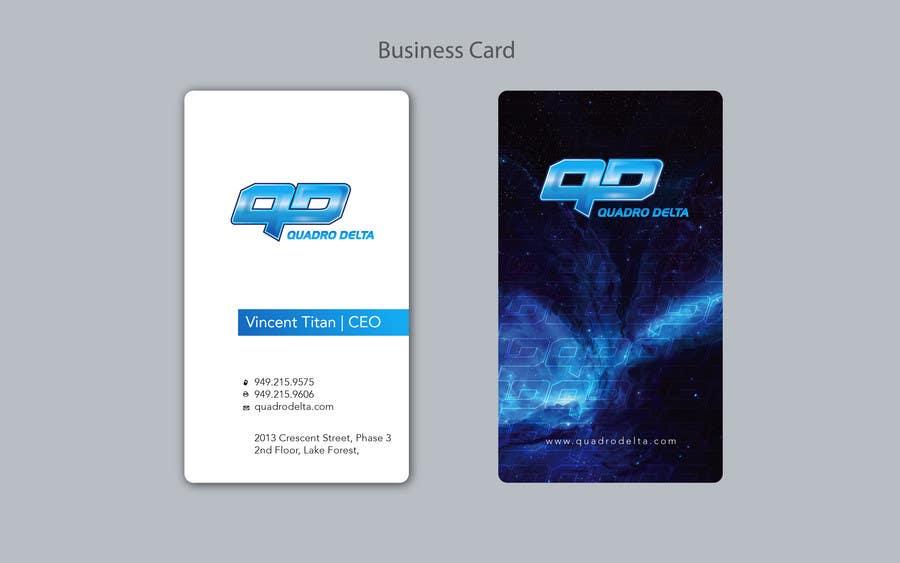 Inscrição nº                                         139                                      do Concurso para                                         Design Logo and INTRO video for Quadro Delta