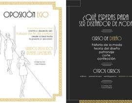 #21 para Flyer Diseño de Moda y Arte de ElisaLapaglia