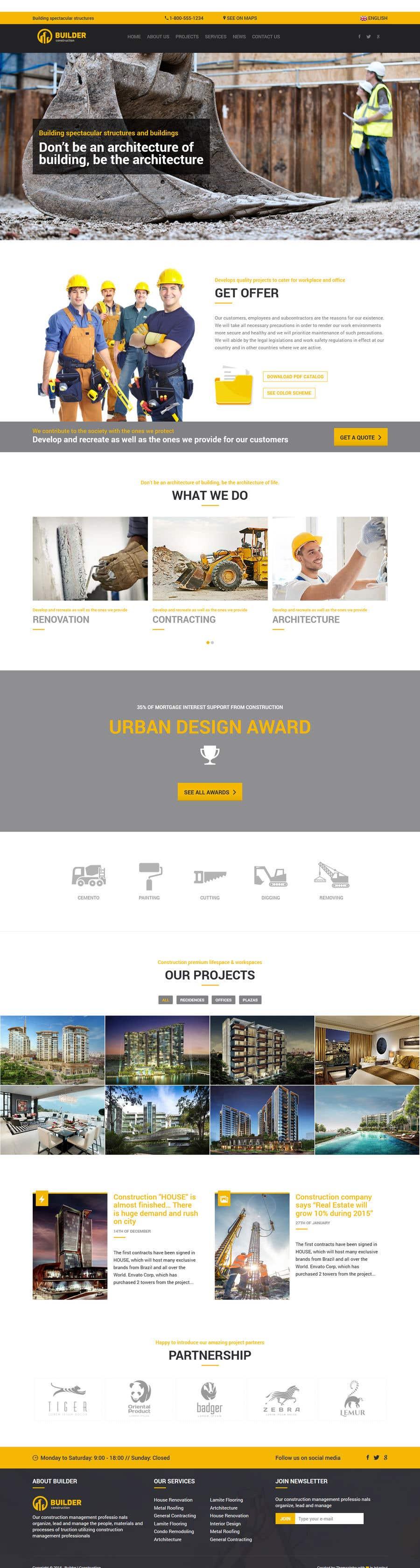 setting up a company website