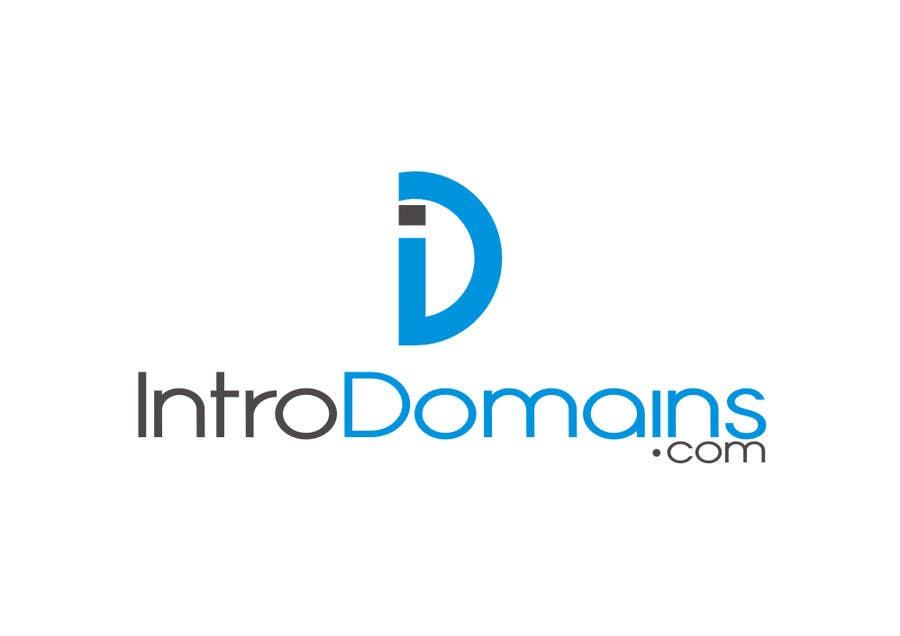 Penyertaan Peraduan #                                        10                                      untuk                                         Design a Logo / Typeface for Introdomains.com