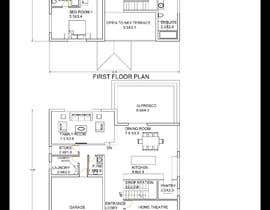 #37 for Architecture Design Floor Plan - Modern 2 Storey Home af designershra