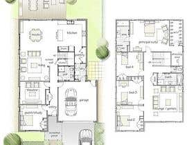 #36 for Architecture Design Floor Plan - Modern 2 Storey Home af Arkhitekton007