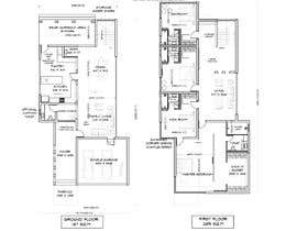 #47 for Architecture Design Floor Plan - Modern 2 Storey Home af Shasma