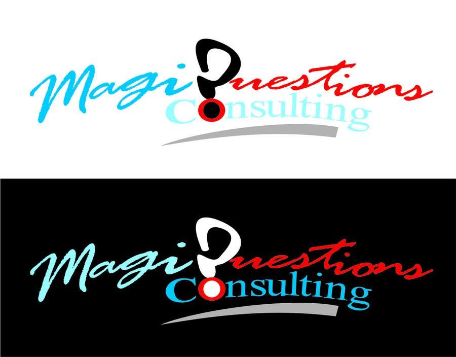 Конкурсная заявка №218 для Logo Design for MagiQuestions Consulting