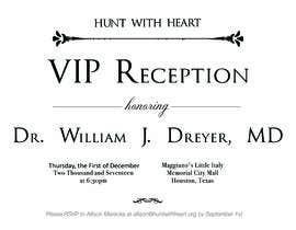 Nro 26 kilpailuun VIP reception Invitation käyttäjältä sonalfriends86