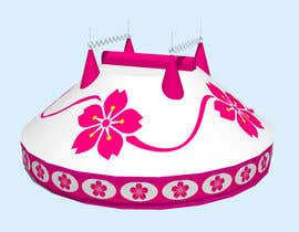 #42 for DESIGN FOR SAKURA CIRCUS TENT by WolfCubDesigns