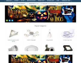 #109 για Design a Fun Website Banner - Halloween theme από freelancerdez