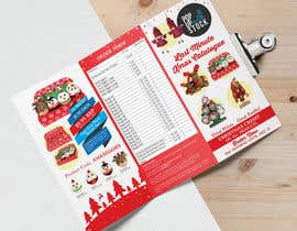 #7 for Create a Christmas Themed Tri-Fold Brochure / Product Catalogue by Badraddauza